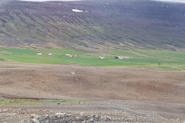 Mýri farm in Bárðardalur, where the film Rams was shot. Photo by Viðar Hreinsson